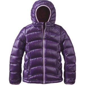 Patagonia Girls Hi-Loft Down Hoodie Jacket